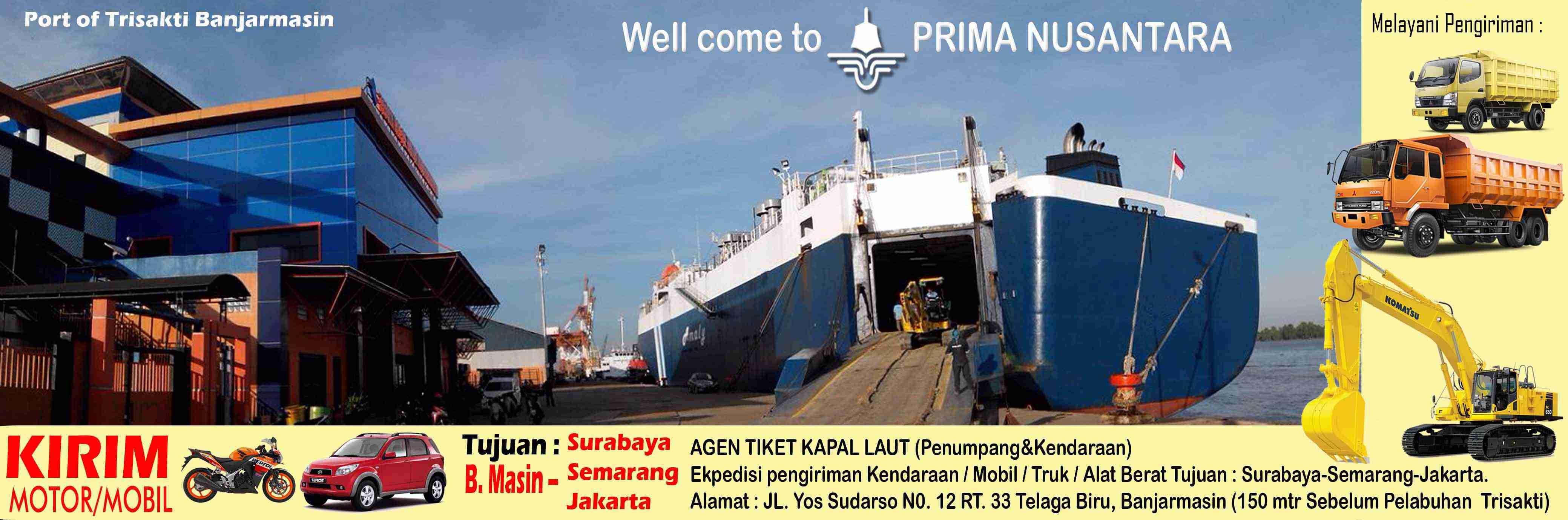Primanusantara Com Jadwal Kapal Laut Dari Surabaya Ke